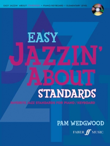 Easy Jazzin About Standards - Piano - Book And CD