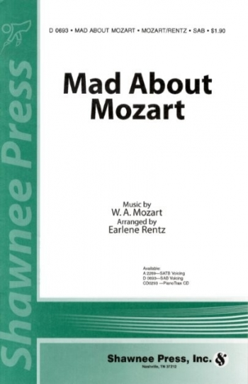 Mad About Mozart :  SAB - Vocal