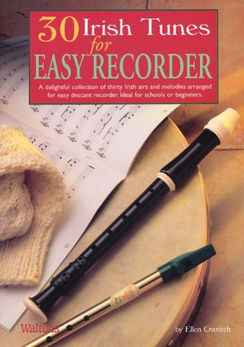 30 Irish Tunes For Easy Recorder: Book & CD