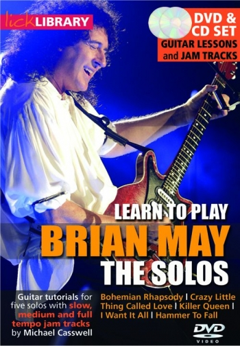 Lick Library: Learn To Play Brian May: The Solos: DVD And Cd Set