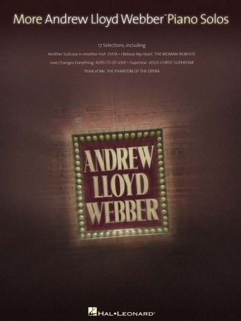 More Andrew Lloyd Webber Piano Solos: 17 Selections