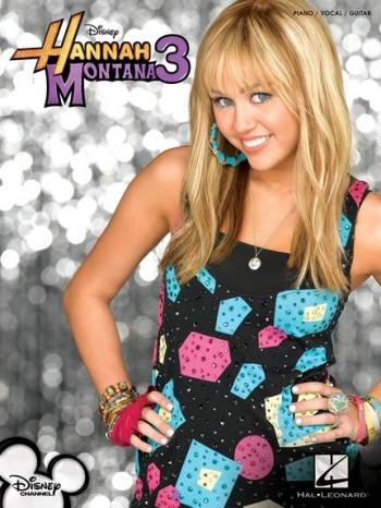Hannah Montana 3:  Piano Vocal Guitar