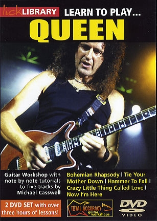 Lick Library: Learn To Queen: DVD