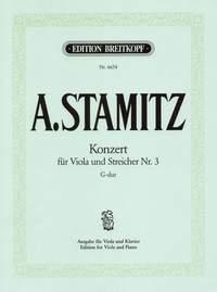 Concerto G Major: Viola  (Breitkopf)