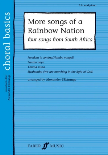 More Songs Of A Rainbow Nation: Vocal: SA & Piano