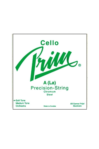 Prim Cello String Set Chrome Steel  Soft