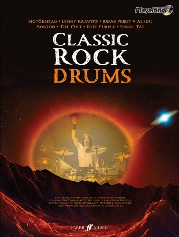 Classic Rock: Drum: Book & CD