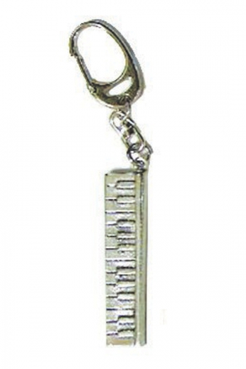 silver And Blue Latest Technology Guitars & Basses Harmony Jewelry Conga Drum Keychain