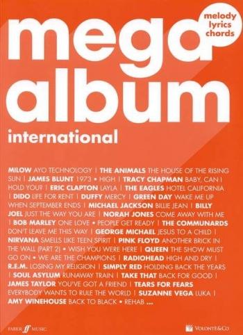 Mega Album: Melody Line And Guitar Chords