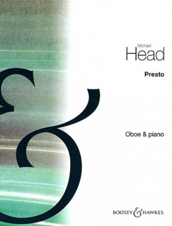 Presto From Three Pieces: Oboe & Piano (B&H)