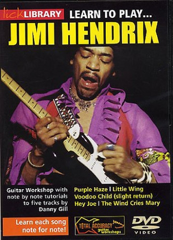 Lick Library: Learn To Play Jimi Hendrix: DVD And Cd Set