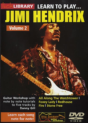 Lick Library: Learn To Play Jimi Hendrix: Vol. 2: DVD And Cd Set