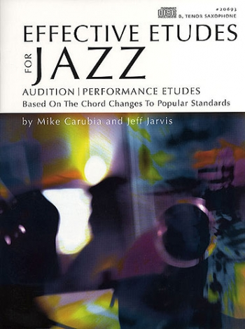 Effective Etudes For Jazz: Tenor Sax: Book & Cd