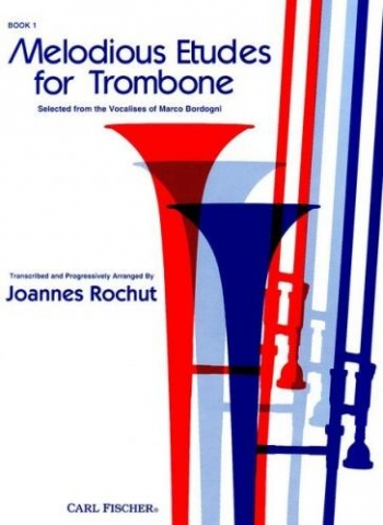 Melodious Etudes For Trombone: Book 1: No 1 - 60: Book