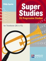 Super Studies For Trombone Bc & Tc (Sparke)