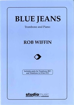 Blue Jeans: Trombone Bass & Treble Clef
