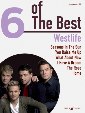6 Of The Best: Westlife: Piano Vocal Guitar
