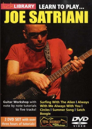 Lick Library: Learn To Play Joe Satriani: DVD And Cd Set
