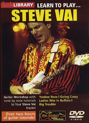 Lick Library: Learn To Play Steve Vai:  Book 1: DVD