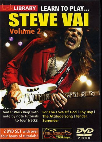Lick Library: Learn To Play Steve Vai:  Book 2: DVD
