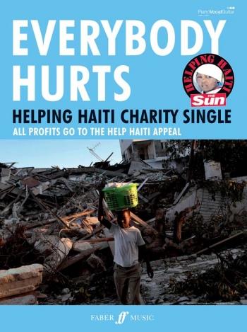 Everybody Hurts: Piano Vocal Guitar: Helping Haiti: Single