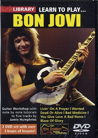 Lick Library: Learn To Play Bon Jovi: The Solos: DVD