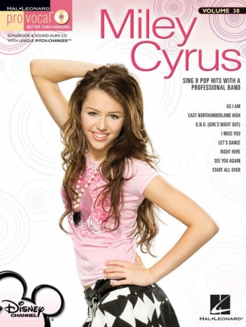 Pro Vocal: Miley Cyrus: Sing 8 Pop Hits: Vol 49