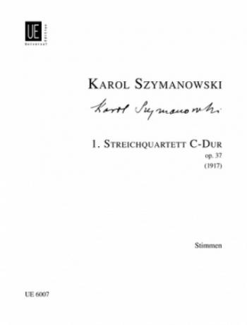 String Quartet - 1 - C Major - Op 37 - Parts