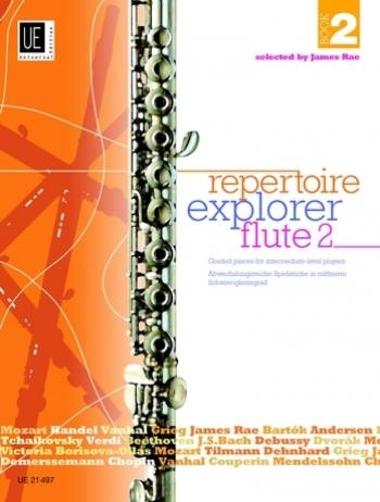 Repertoire Explorer Clarinet Book 2: Graded Pieces Intermediate: Clarinet & Piano (James Rae)