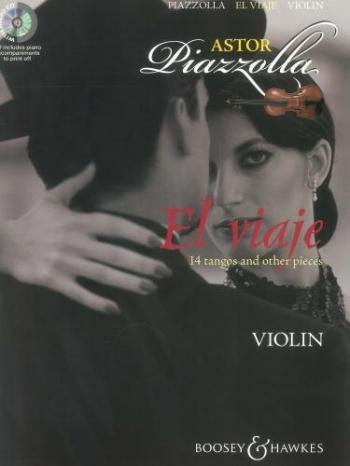 El Viaje: 14 Tangos & Other Pieces - Violin - Book And CD