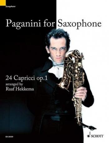 24 Caprices: Op1: Alto Saxophone