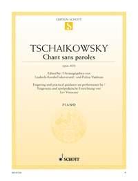 Chant Sans Paroles: Op40 No.6: Piano: Piano (Schott Ed)
