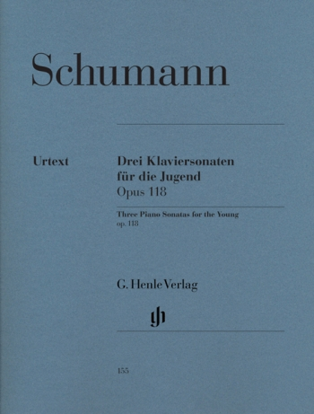 Three Piano Sonatas For The Young: Op118: Piano (Henle)