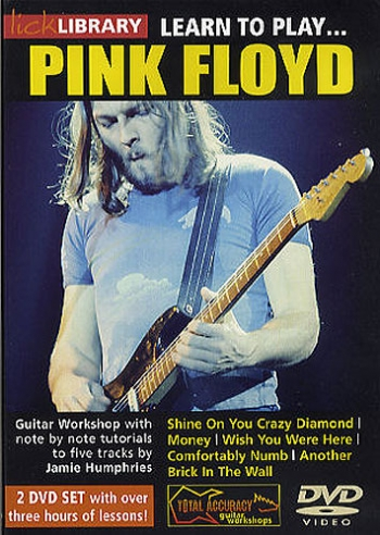 Lick Library: Learn To Play  Pink Floyd: DVD