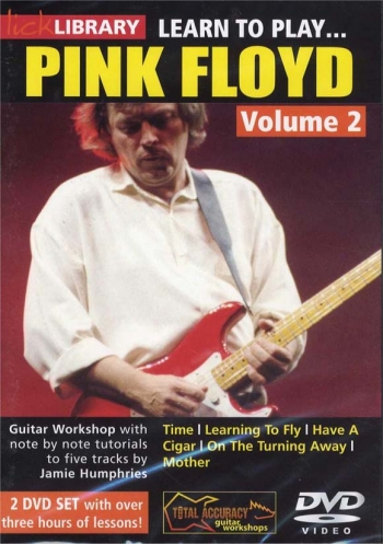 Lick Library: Learn To Play  Pink Floyd: Vol2: DVD