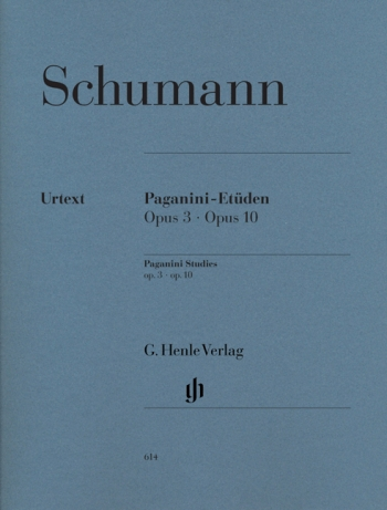 Paganini Studies: Op3&10: Piano  (Henle Ed)