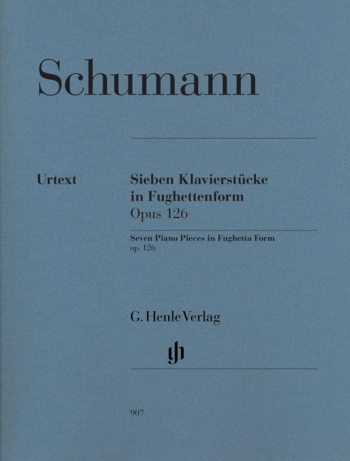 Seven Pieces In Fughetta Form: Op126: Piano  (Henle Ed)