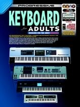 Progressive Keyboard Method For Adults: Book Cd & 2DVD & CDROM