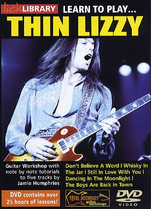 Lick Library: Learn To Play  Thin Lizzy: Guitar: DVD
