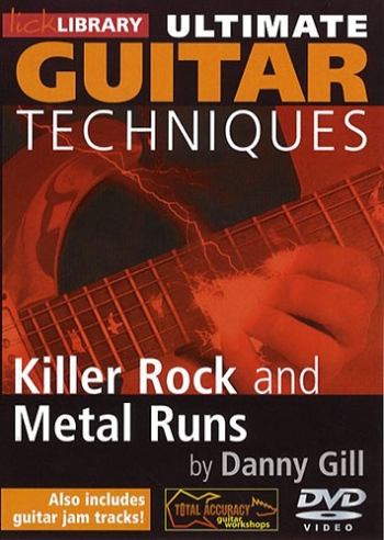 Lick Library: Ultimate Guitar Techniques: Killer Rock And Metal Runs: Dvd