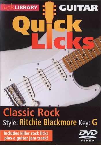 Lick Library: Ultimate Guitar Techniques: Ritchie Blackmore Classic Rock: Dvd