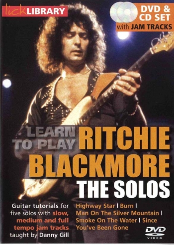 Lick Library: Ultimate Guitar Techniques:Ritchie Blackmore: The Solos: Dvd