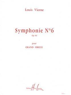 6th Symphony: Organ (Lemoine)