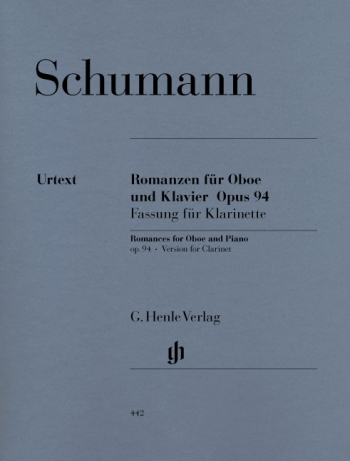 Romances For Clarinet And Piano (Henle)