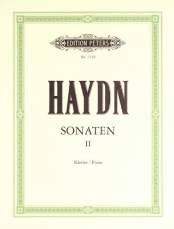 Haydn: Sonatas: Vol.2: Piano (Peters)
