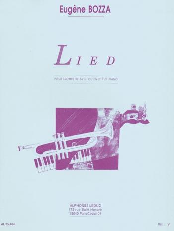 Lied:Trumpet & Piano (Leduc )
