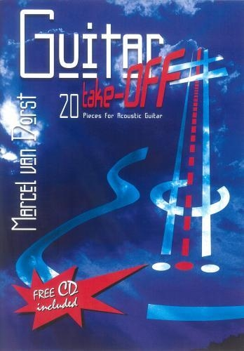 Guitar Take Off: 20 Pieces For Acoustic Guitar: Bk&Cd