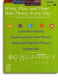 Write, Play And Hear Your Theory Every Day: Bk 1: Book & Audio Download