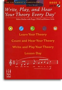 Write, Play And Hear Your Theory Every Day: Bk 2