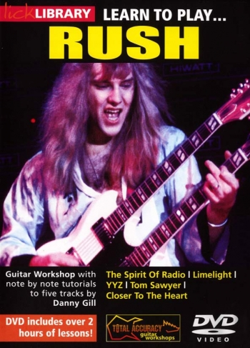 Lick Library: Learn To Play  Rush: DVD